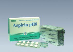 Tìm hiểu công dụng và những lưu ý khi sử dụng thuốc Aspirin pH8
