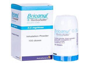 Những điều cần biết về bình hít khô thuốc Bricanyl trong co thắt phế quản?