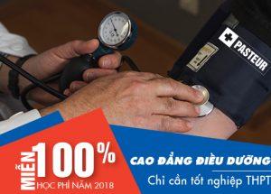 Năm 2018 Cao đẳng Điều dưỡng Đà Nẵng xét tuyển gồm những môn gi?