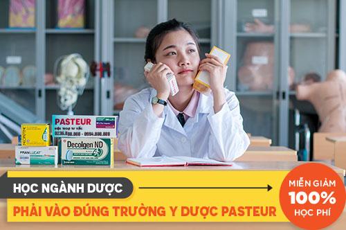 Học ngành Dược phải vào Trường Cao đẳng Y Dược Pasteur Đà Nẵng