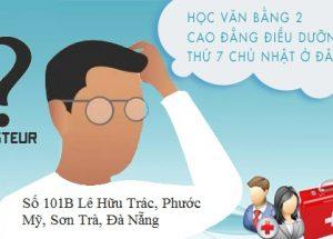 TP Đà Nẵng đào tạo Văn bằng 2 Cao đẳng Điều dưỡng thời gian bao lâu?
