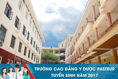 Trường Cao đẳng Y Dược Pasteur thông báo tuyển sinh Văn bằng 2 Cao đẳng Y Dược năm 2017