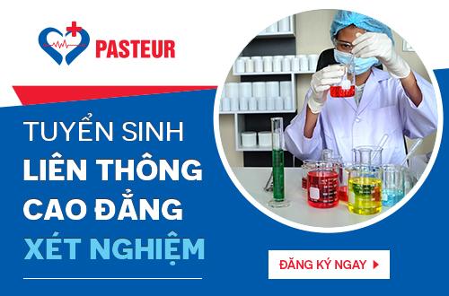 Trường Cao đẳng Y Dược Pasteur tuyển sinh liên thông Cao đẳng Xét nghiệm Hà Nội