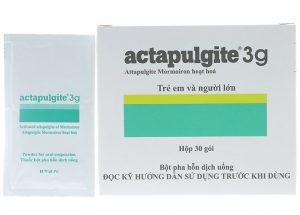 Những điều cần biết về thuốc Actapulgite® (attapulgite mormoiron)