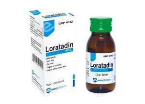 Chỉ định và liều dùng của thuốc siro Loratadin