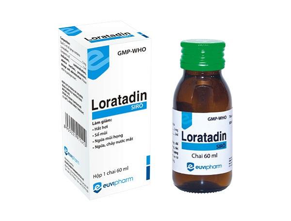 Cách sử dụng thuốc Siro Loratadine hiệu quả