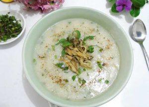 Cháo trai – món ăn giúp thanh nhiệt, giải độc hiệu quả