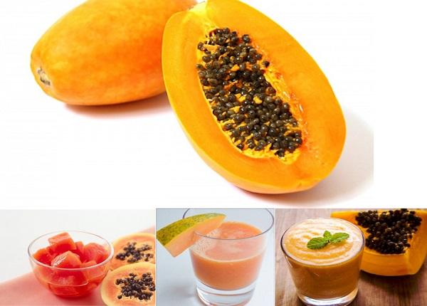 Ăn đu đủ sau bữa ăn sẽ giúp thúc đẩy hệ tiêu hóa hiệu quả của