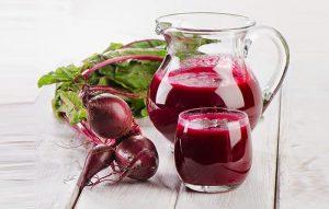 Uống nước cải đường giúp bồi bổ sức khỏe hiệu quả