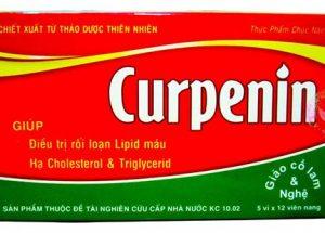 Dược học hướng dẫn sử dụng thực phẩm chức năng Curpenin