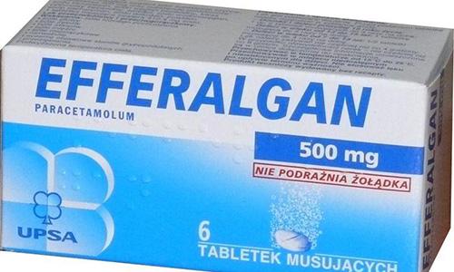 Dược học hướng dẫn sử dụng thuốc Efferalgan 500mg