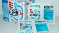 Tìm hiểu tác dụng và cách dùng thuốc Aldrin đúng cách