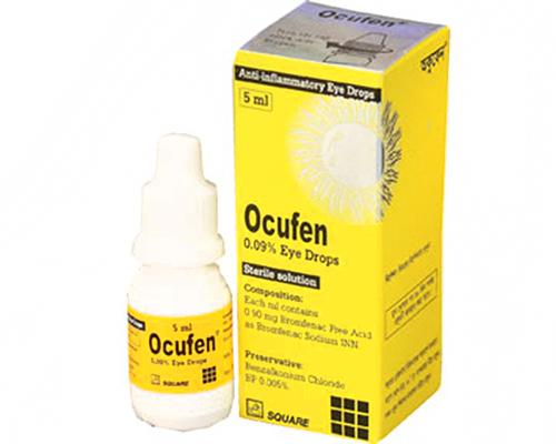 Dược sĩ cảnh báo khi sử dụng thuốc Ocufen