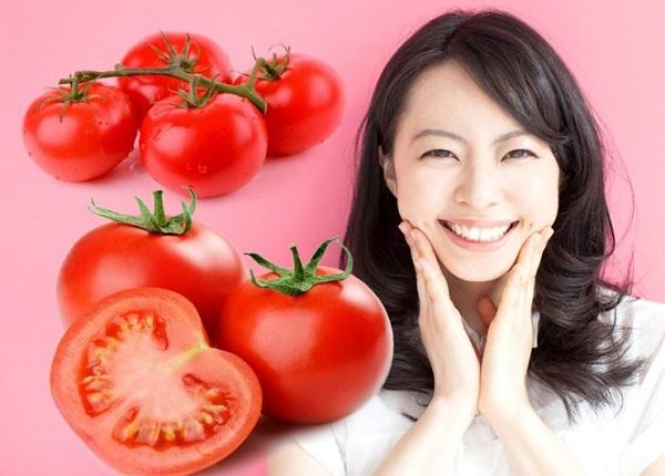 Một số phương pháp làm đẹp da từ cà chua