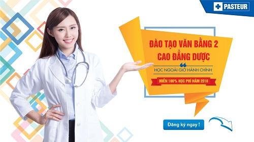 Cơ hội miễn 100% học phí Văn bằng 2 Cao đẳng Dược Đà Nẵng năm 2018