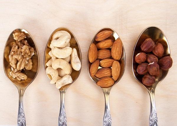 Các loại hạt được đưa vào danh sách các loại thực phẩm rất tốt cho tim