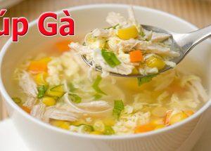 Tăng sức đề kháng vào mùa lạnh với món súp gà bổ dưỡng