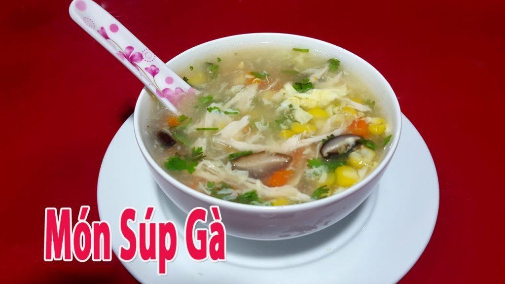 mon sup ga bo duong