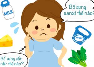 Dược sĩ tư vấn bổ sung thuốc Sắt và Canxi đúng cách cho bà bầu