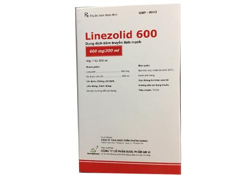 Thông tin về thuốc tân dược Linezolid