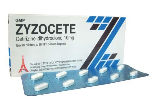Thuốc Zyzocete 10mg là gì?
