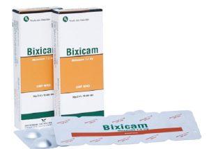 Công dụng, cách dụng và những lưu ý khi sử dụng thuốc điều trị xương khớp Bixicam