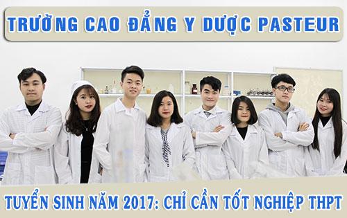 Thời gian đào tạo Cao đẳng Dược tại Trường Cao đẳng Y Dược Pasteur