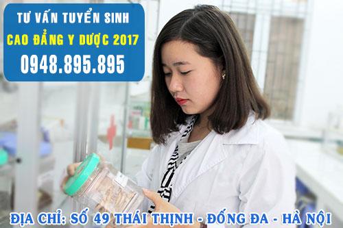 Thông tin tuyển sinh Cao đẳng Y Dược năm 2017